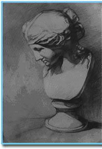 素描介绍(图文)  素描是一种独立的绘画形式,它是用单一颜色